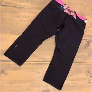 Lululemon athletica Capri reversible leggings